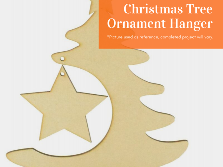 Laser Cutting Project: Christmas Tree Ornament Hanger