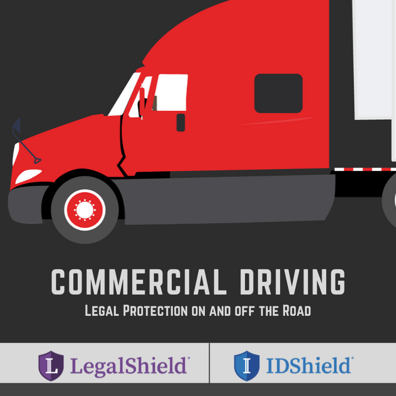 Legal Shield Open House: Commercial Driving