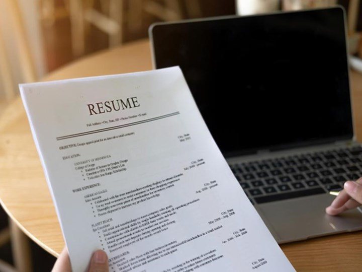 Online Resume Workshop