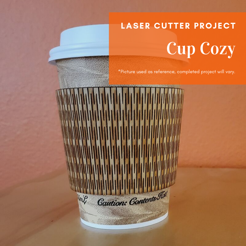 Laser Cutting Project: Cup Cozy